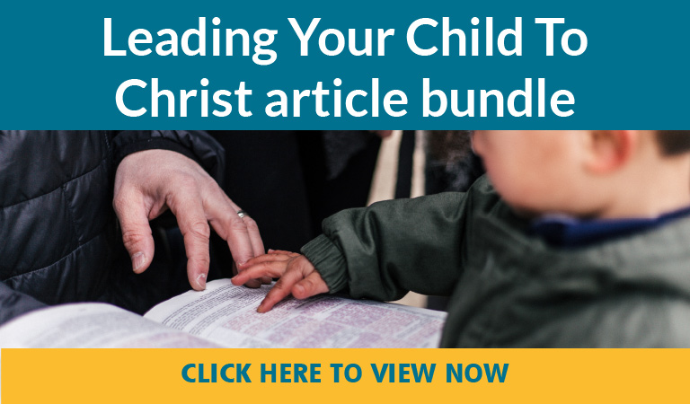 Leading Your Child to Christ
